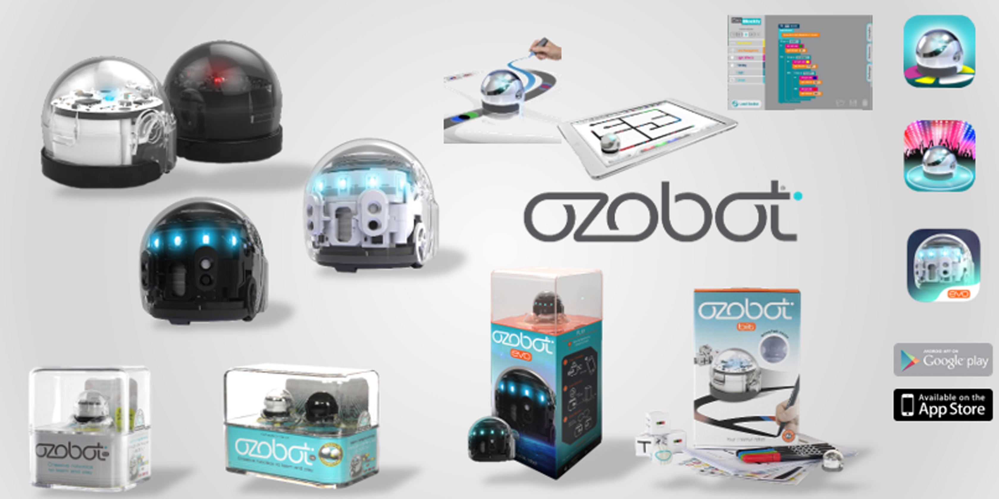Ozobot Gamme