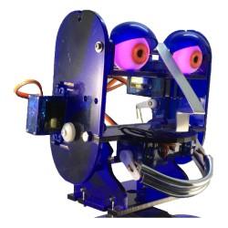Ohbot - tête entière - yeux lumineux rouges