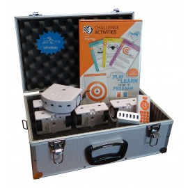 Pack 5 robots Thymio 2 Wireless en mallette