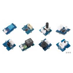 Kit capteurs (température, luminosité, infrarouge, capacitif...) avec base de connexion