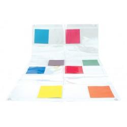 Tapis transparent à pochettes