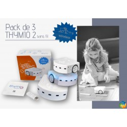 Pack de 3 robots Thymio 2 Wireless