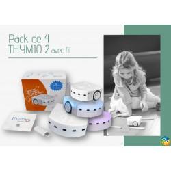 Pack de 4 robots Thymio 2