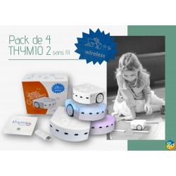 Pack de 4 robots Thymio 2 Wireless