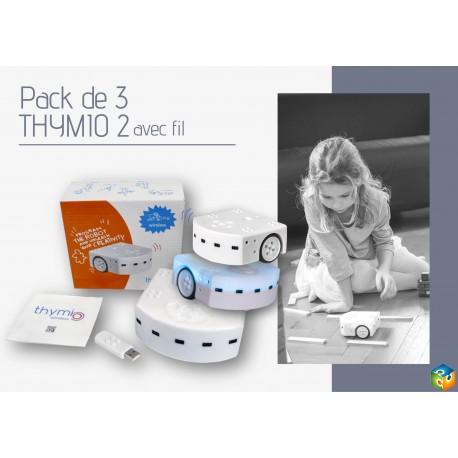 Pack de 3 robots Thymio 2