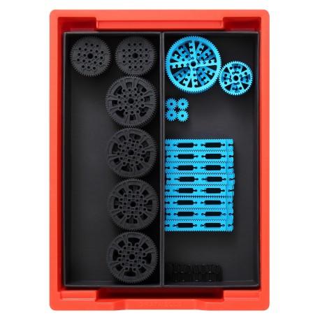 Kit de transmission mécanique Makerspace pour création de robots ou systèmes éducatifs