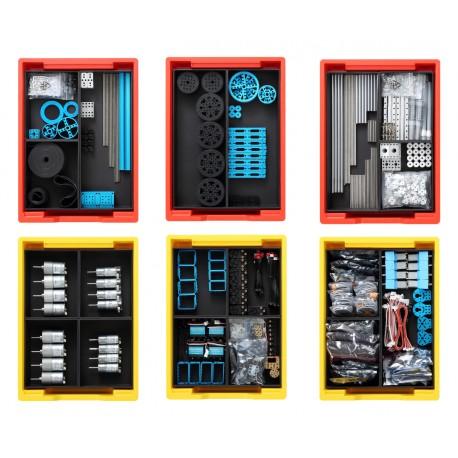 Kit de motorisation et transmission mécanique module de démarrage pour robot ludo-éducatif Makerspace