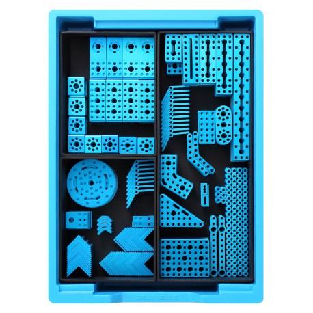 Kit pièces mécaniques de raccordement Makerspace pour création de structure pour robot éducatif