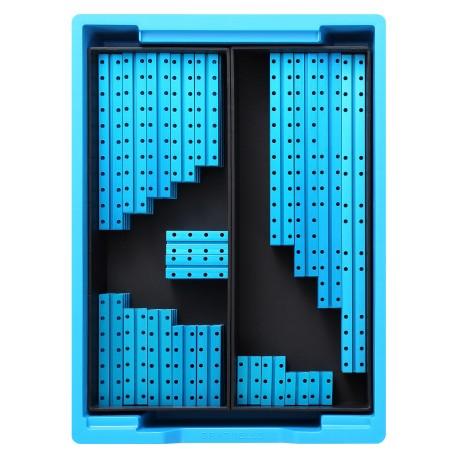 Kit d'éléments de structure module 2 Makerspace pour réalisation de robots ludo-éducatifs