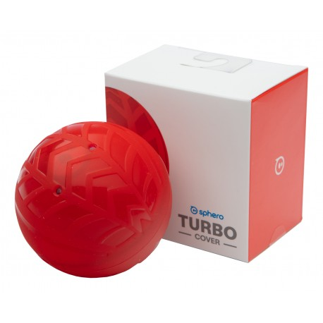 Coque de protection rouge pour le robot éducatif Sphero