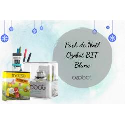 Pack de Noël Ozobot BIT Blanc