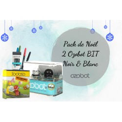 Pack de Noël 2 Ozobot BIT Noir et Blanc