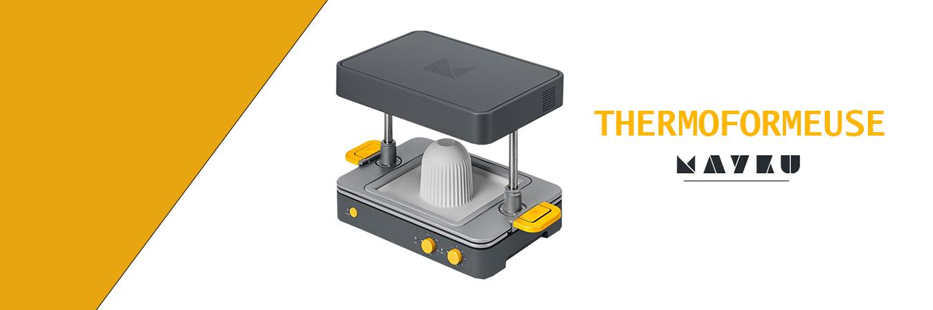Formbox de Mayku, une thermoformeuse de qualité industrielle